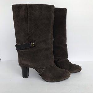 Tahari | Brown Harper Suede Boots